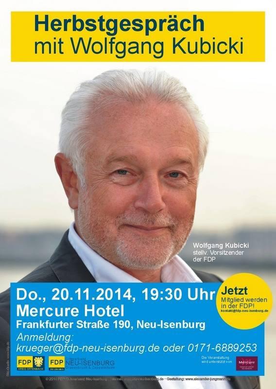 Herbstgespräch mit Wolfgang Kubiki