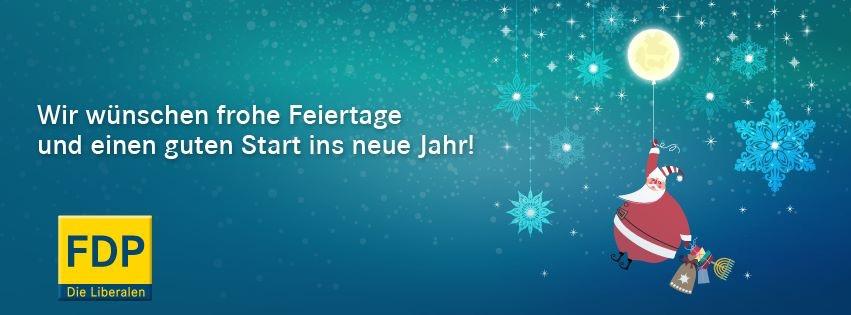 Frohes Fest und einen guten Start ins neue Jahr.