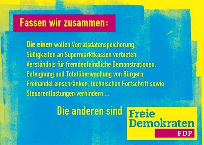 FDP fasst zusamen.