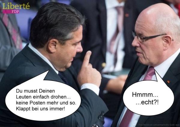 Neulich im Bundestag ...