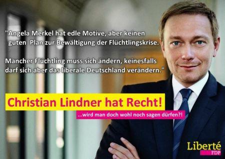 Christian Lindner zur Flüchtlingskrise