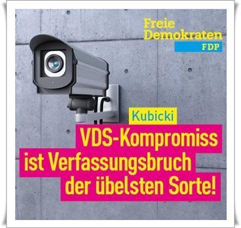 VDS-Kompromiss ist Verfassungsbruch