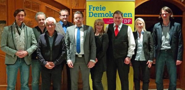 FDP Vorstandswahl 2015