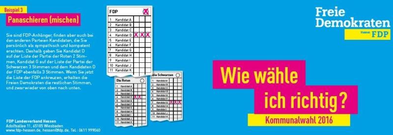 FDP Rödermark. Richtig wählen.