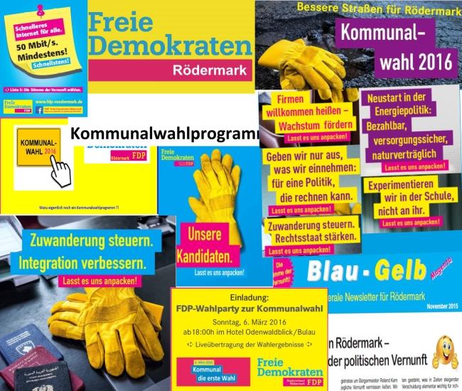 FDP Rödermark. Alles zur Kommunalwahl.