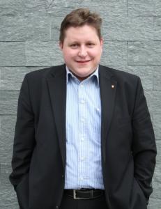 Tobias Kruger. Bürgermeisterkandidat der FDP Rödermark