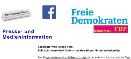 Pressemeldung zur Kandidatur von Roland Kern