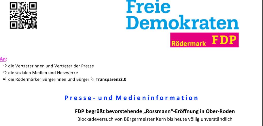 Rossmann Ober-Roden