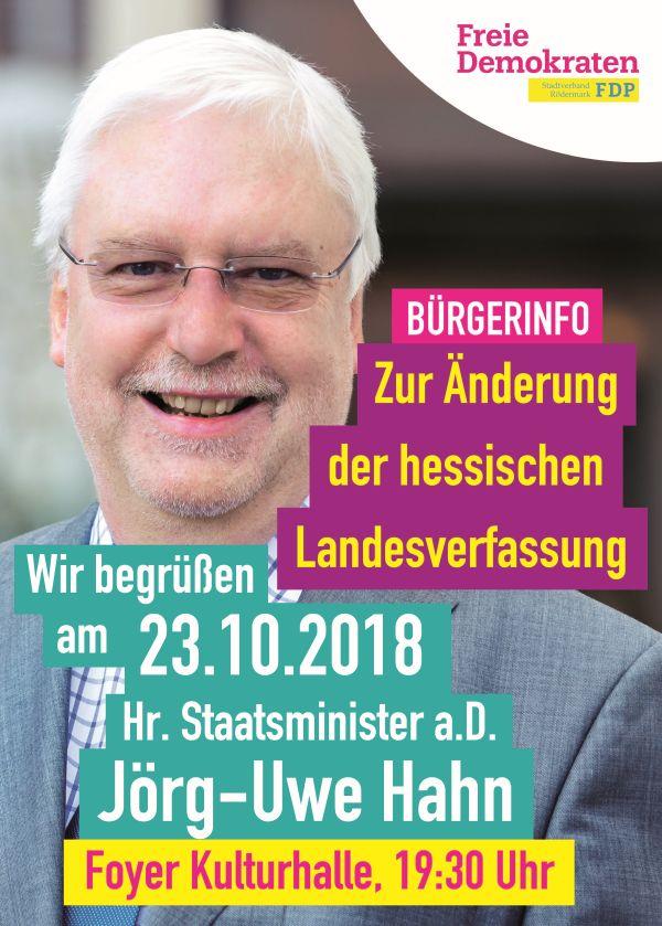 Uwe Hahn in Rödermark
