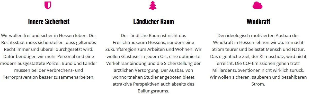 Wahlprogramm der FDP Hessen zur Landtagswahl 2018