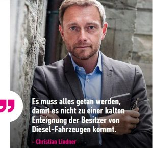 Christian Lindner zum Diesel
