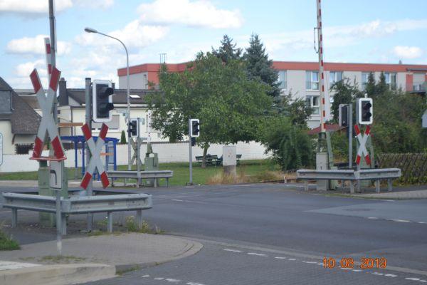 Grünflächen rund um den Bahnhof Urberach