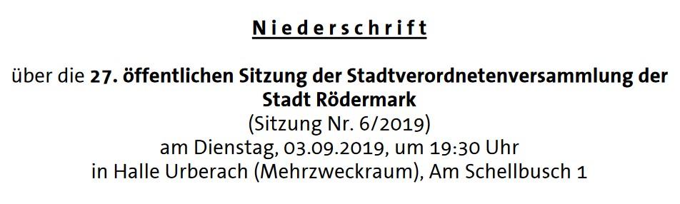 Niederschrift Stavo 03.09.2019