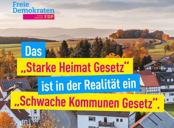 """Heimatumlage. """"Starke Heimat Hessen"""""""