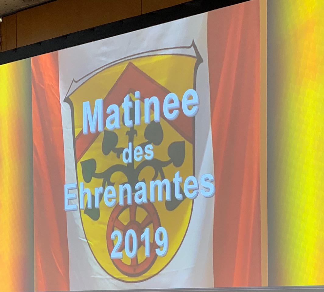 Matinee des Ehrenamts 2019