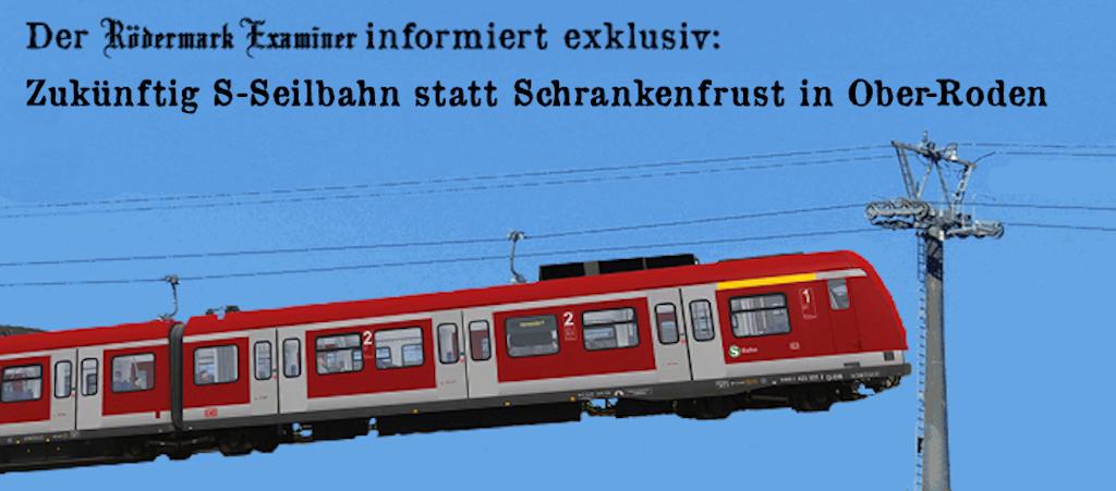S-Seilbahn für den Bahnübergang Ober-Roden. Klicken Sie auf das Bild.