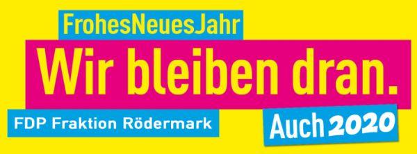 FDP Rödermark. Wir bleiben dran.