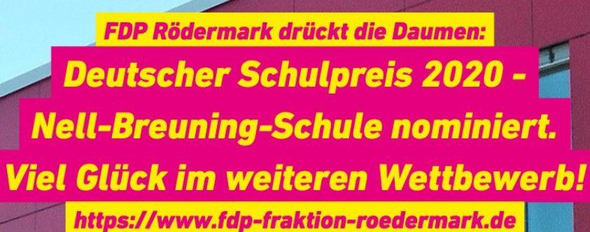 Die Webseite der FDP Rödermark