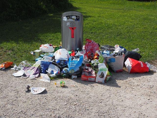 Müll und Vadalismus in Rödermark (Symbolfoto)